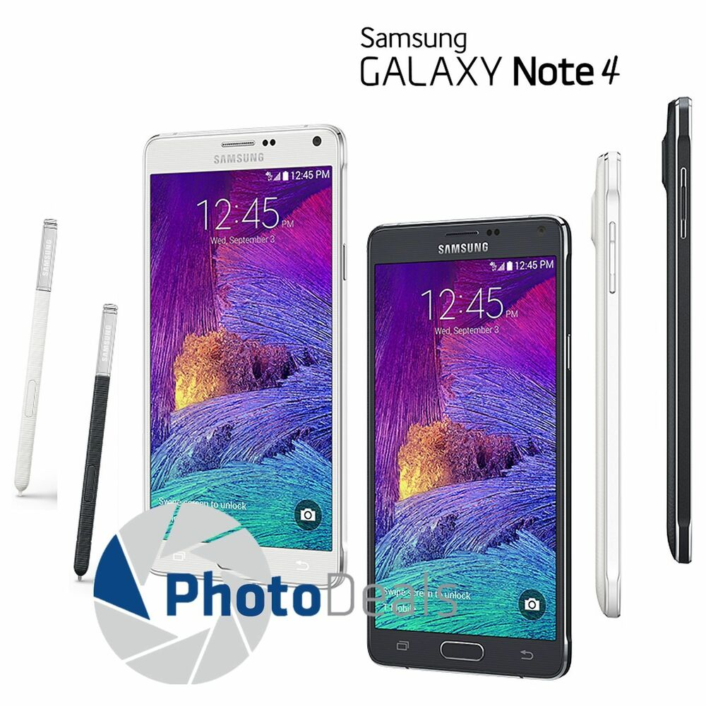 Samsung Galaxy Note 4 AT&T & T-Mobile Unlocked 32GB 4G LTE