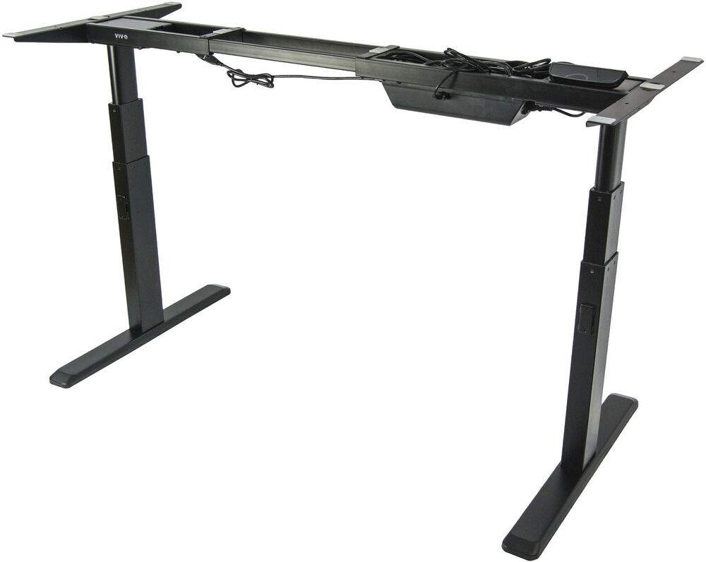 Electric Stand Up Desk Frame W Dual Motor Ergonomic