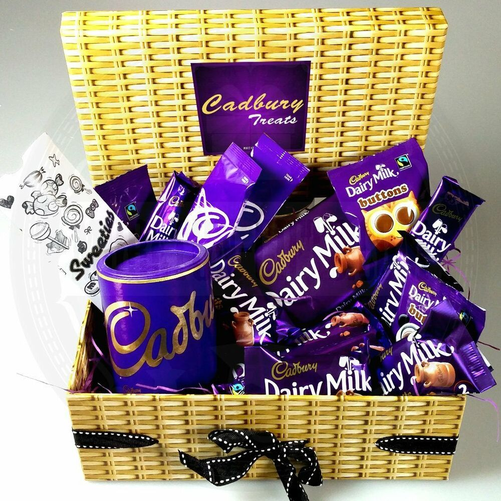 Cadbury Dairy Milk Chocolate Treasure Box Full Of Treats