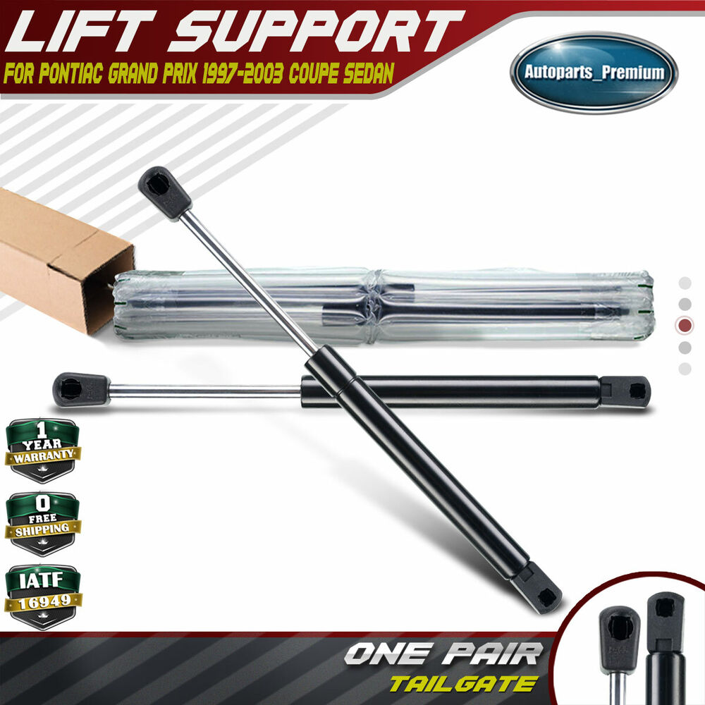 Trunk Lift Supports : Trunk tailgate lift supports shock struts for pontiac