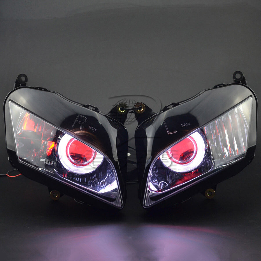 Assembly Headlight Demon Angel Eye Projector Hid Kits For-5782