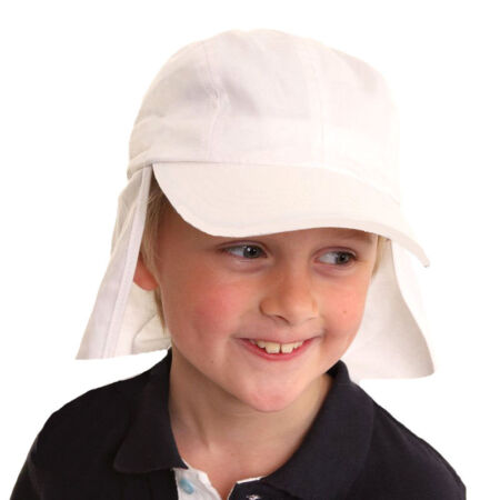 img-Kids Infants Babies Summer Sun Hat Foreign Legion Neck Protection UPF 40+ 9-24 m