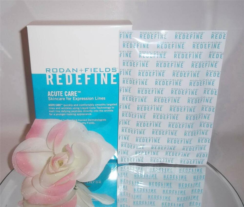 rodan fields redefine acute care  expression lines  eye wrinkles  packs ebay