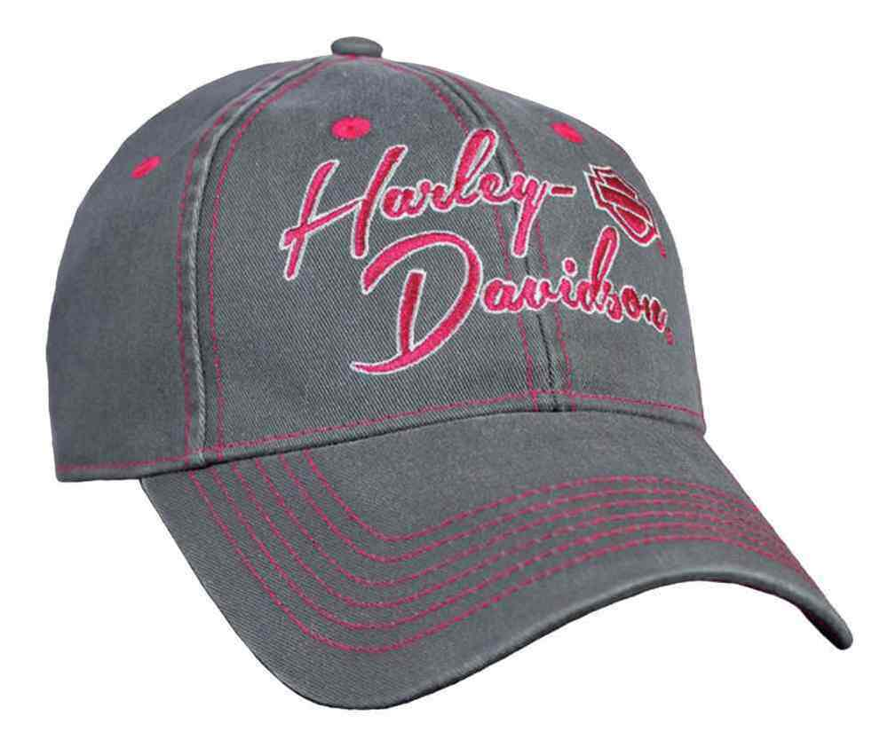 Harley Davidson Women S Out Loud Embroidered Baseball Cap