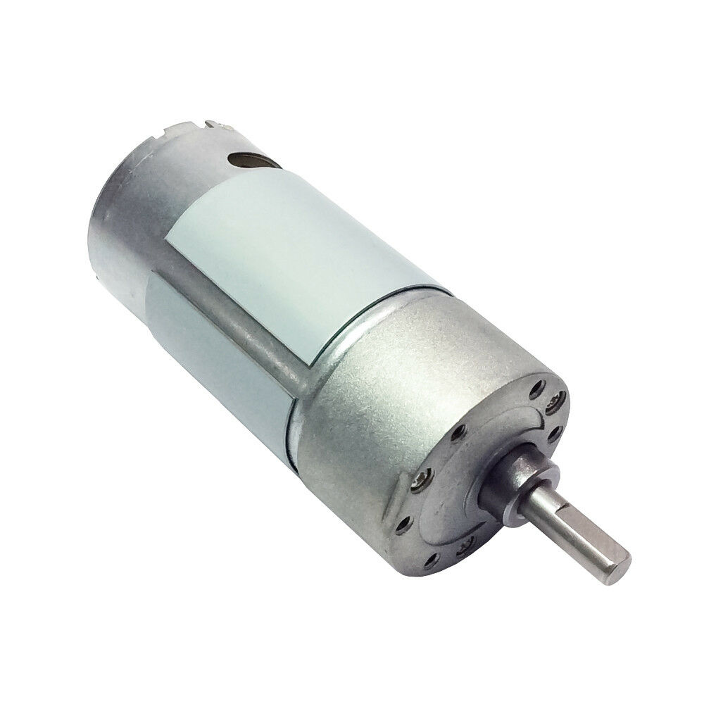 Micro reversible dc geat motor 12v 100rpm electric gearbox Electric motor with gearbox