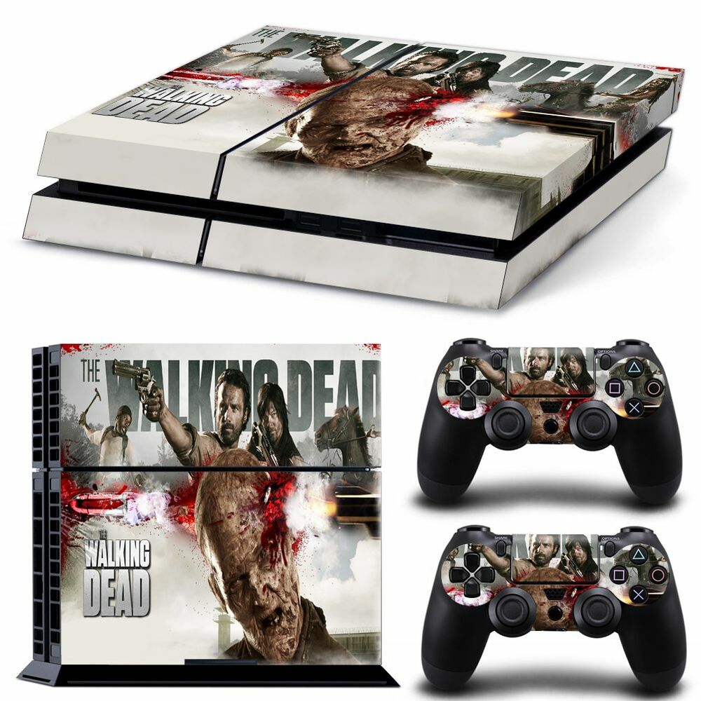 ps4 skin playstation 4 console skin decal sticker the. Black Bedroom Furniture Sets. Home Design Ideas