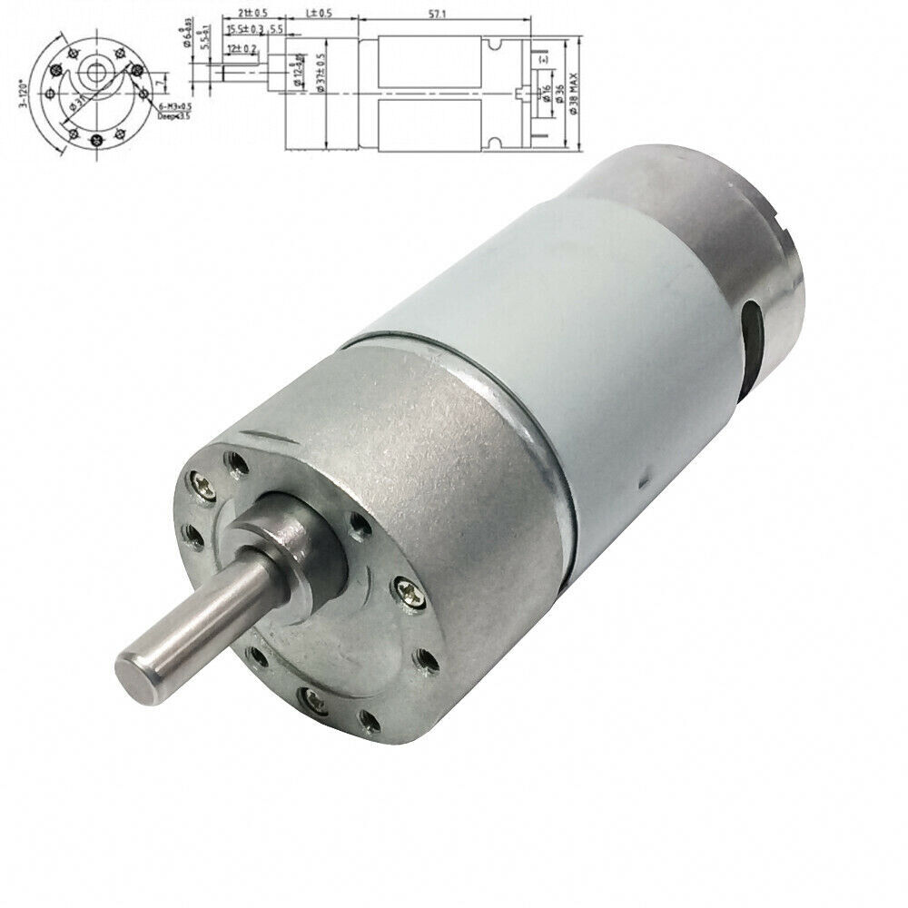 High speed 280rpm dc micro reversible gear motor 12v Reversible ac motor