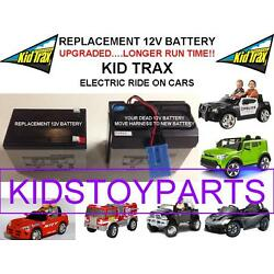 Kyпить LONG LASTING REPLACEMENT KID TRAX 12 VOLT RECHARGEABLE  BATTERY BRAND NEW на еВаy.соm