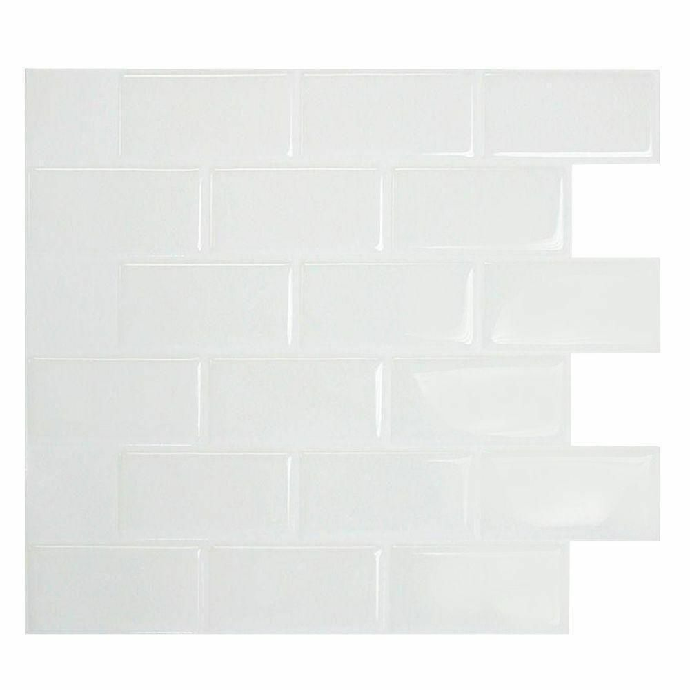 Smart Tiles Sm1020 1 Self Adhesive Wall Tiles 1 Sheet