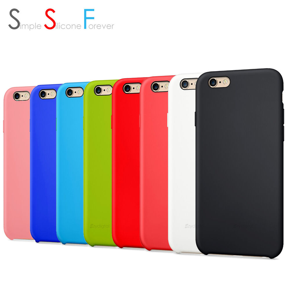 new silicone case cover apple iphone 6 6s plus iphone. Black Bedroom Furniture Sets. Home Design Ideas