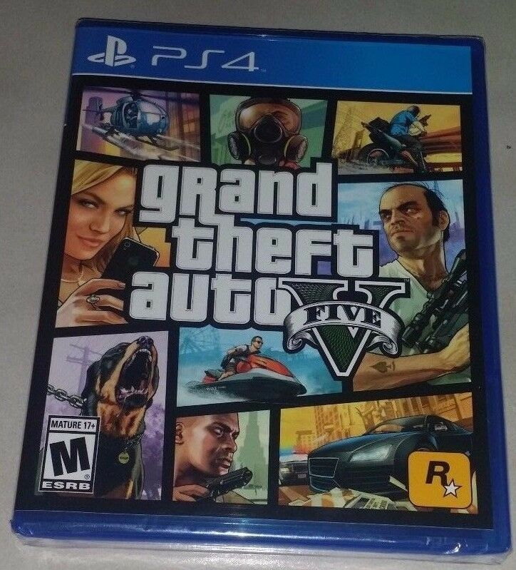 Grand Theft Auto V 5 For PlayStation 4