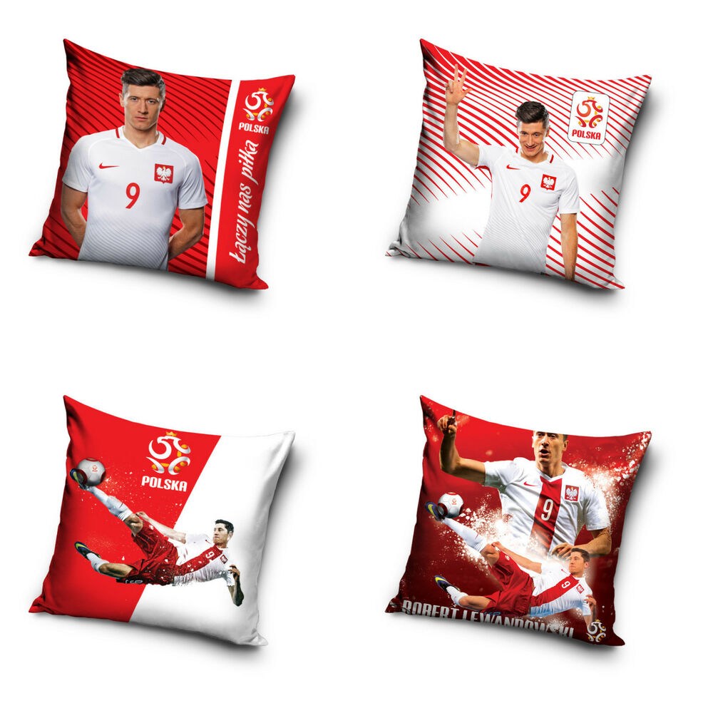 robert lewandowski kissenbezug kissenh lle pillowcase polen poland 40 x 40 cm ebay. Black Bedroom Furniture Sets. Home Design Ideas