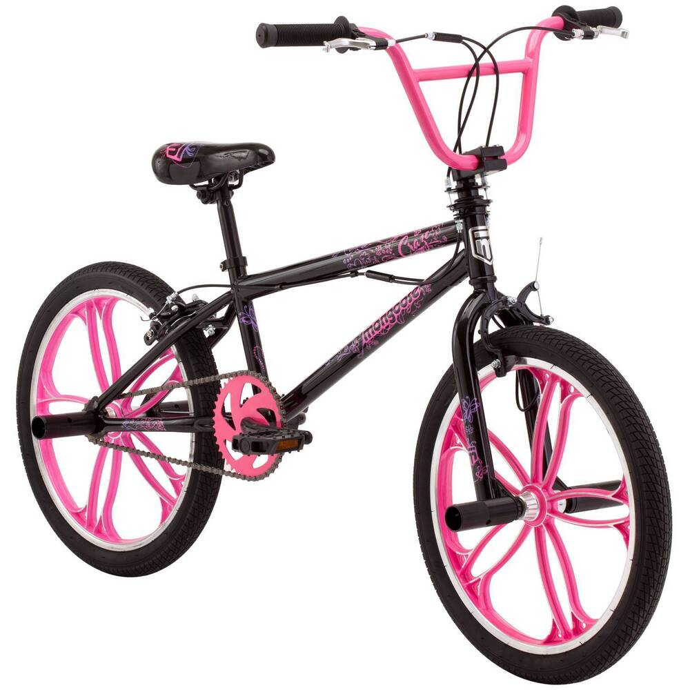 "20"" Mongoose Craze Freestyle Girls' BMX Bike 