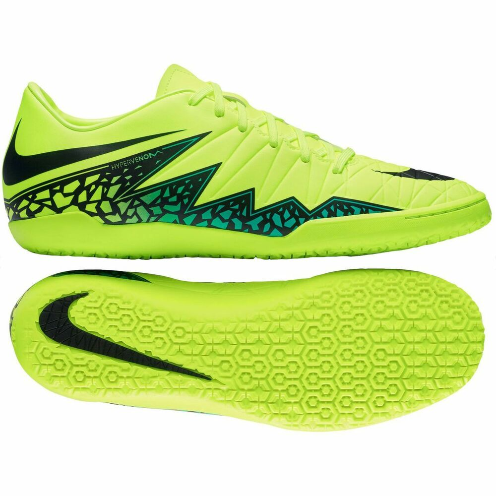 Nike HyperVenom Phelon II Indoor 2016 Soccer Shoes Volt ...