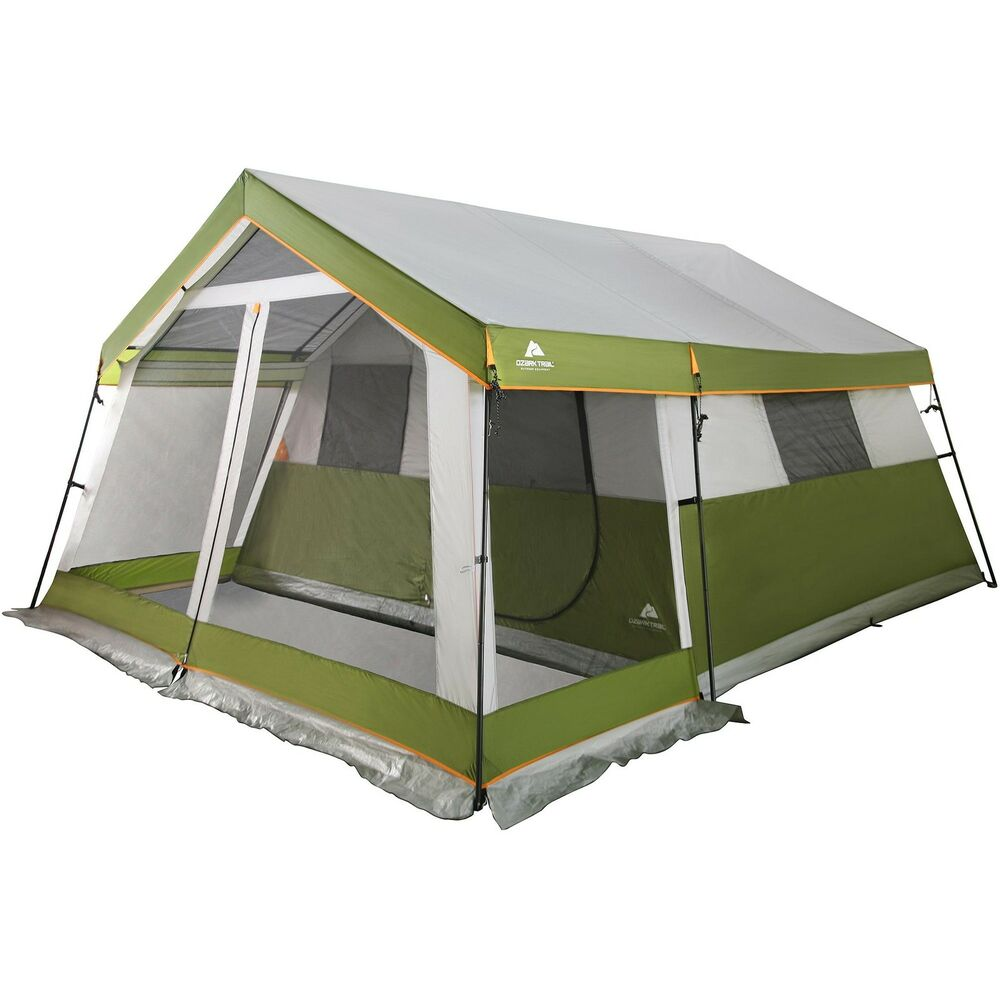 Ozark Trail 8 Person Family Cabin Tent With Screen Porch