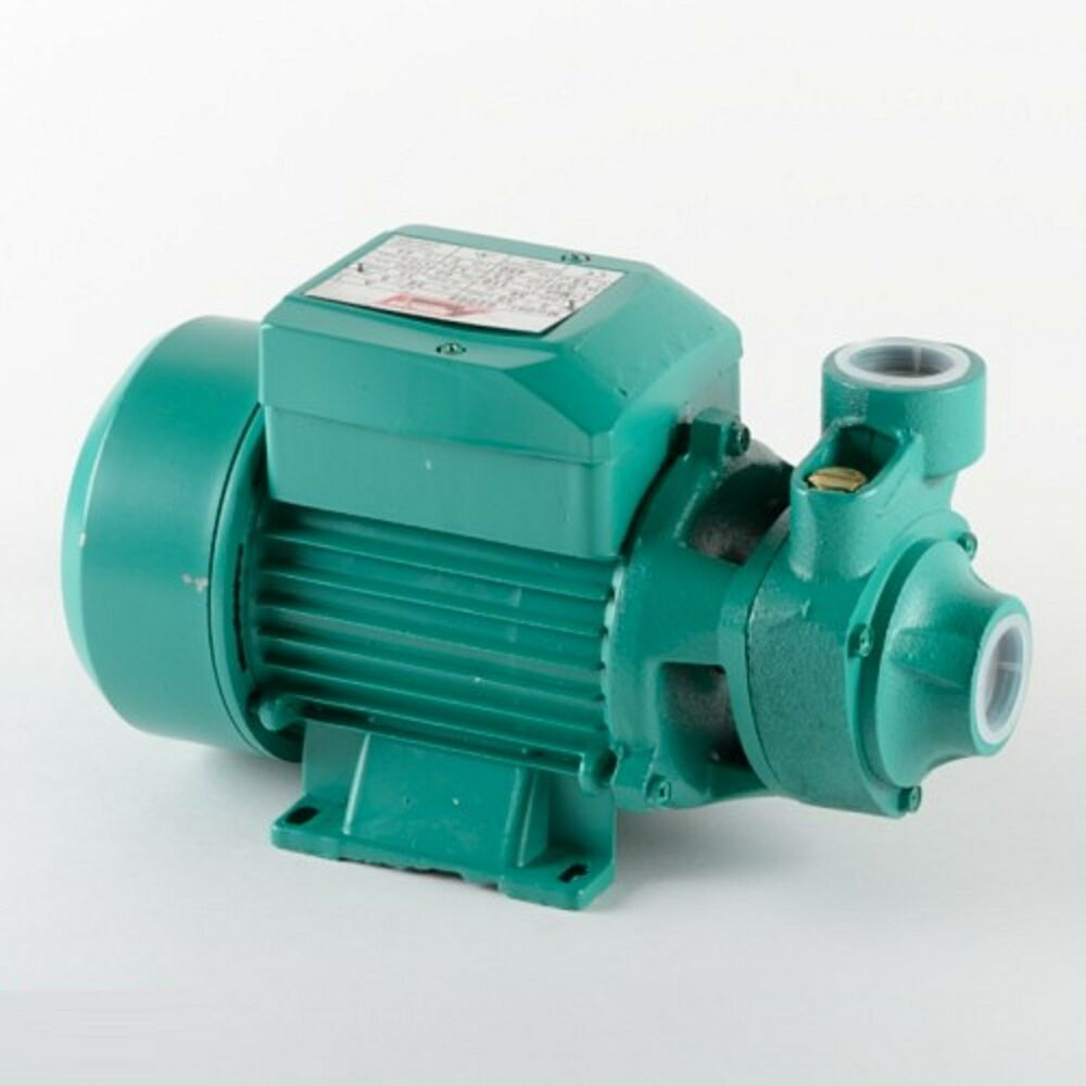 Centrifugal 1 2 hp electric water pump pool farm pond for Pond water pump