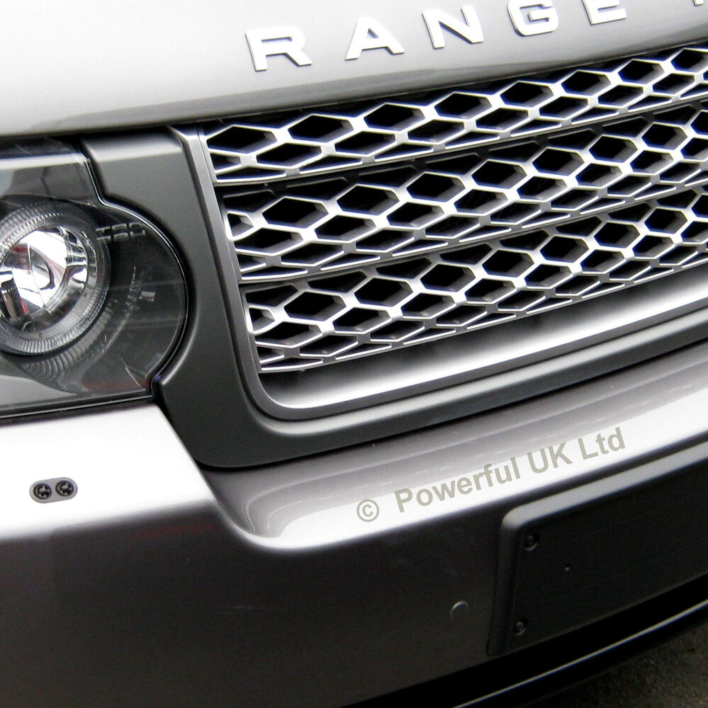 Sell Used 2010 Range Rover Hse Supercharged Black Black: Grey+Silver Front Grille For Range Rover L322 2010-13