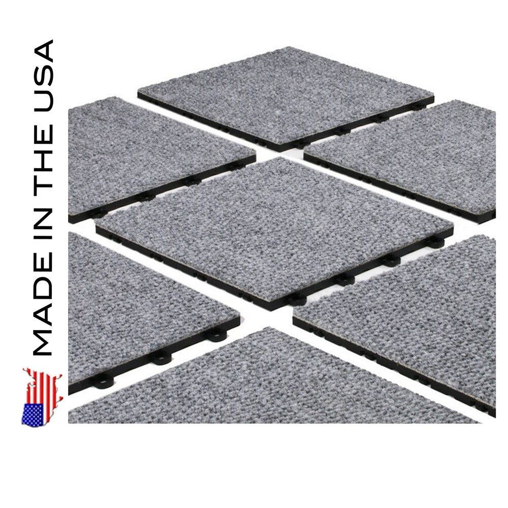Gray carpet tiles on shoppinder for Do it yourself flooring