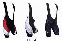 ED:GE™ Padded Cycling Lycra Compression Bib Shorts - All colours and sizes