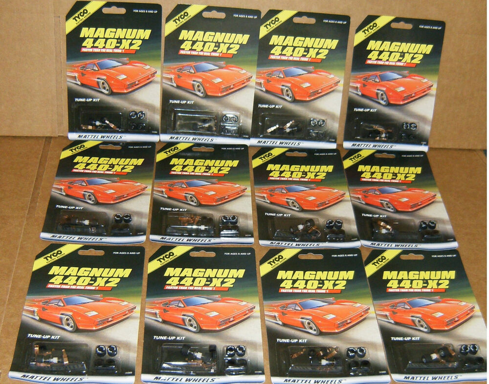 Tyco Slot Cars: Tyco Magnum 440-X2 Slot Car Tune Up Kit Case Of 12 Shoes