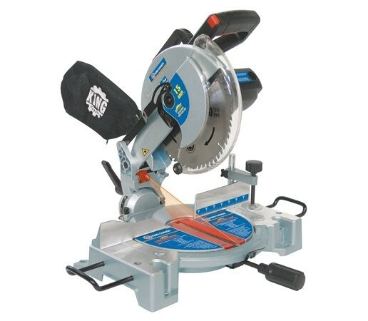 King canada tools 8324n 10 compound mitre saw with laser for Gardening tools mitre 10