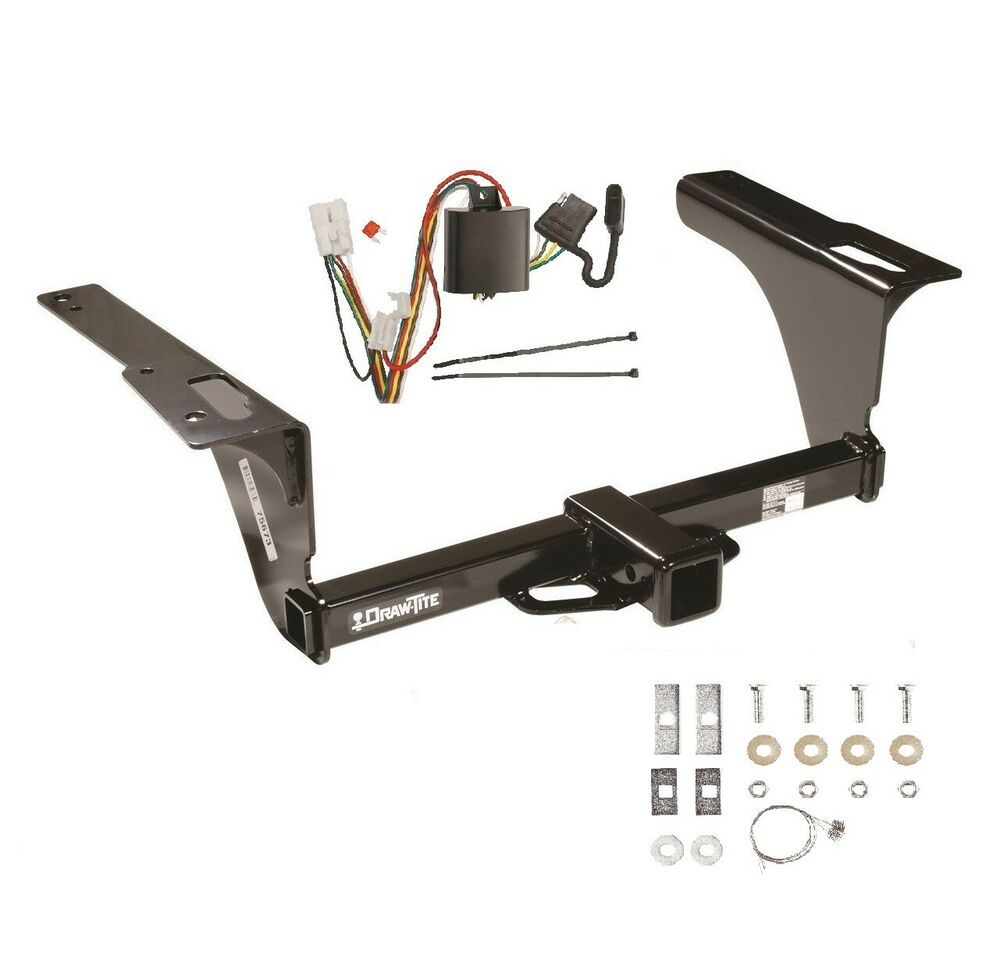 "CLASS 3 TRAILER HITCH & WIRING FOR 2010-2018 SUBARU OUTBACK WAGON 2"" TOW  75673 