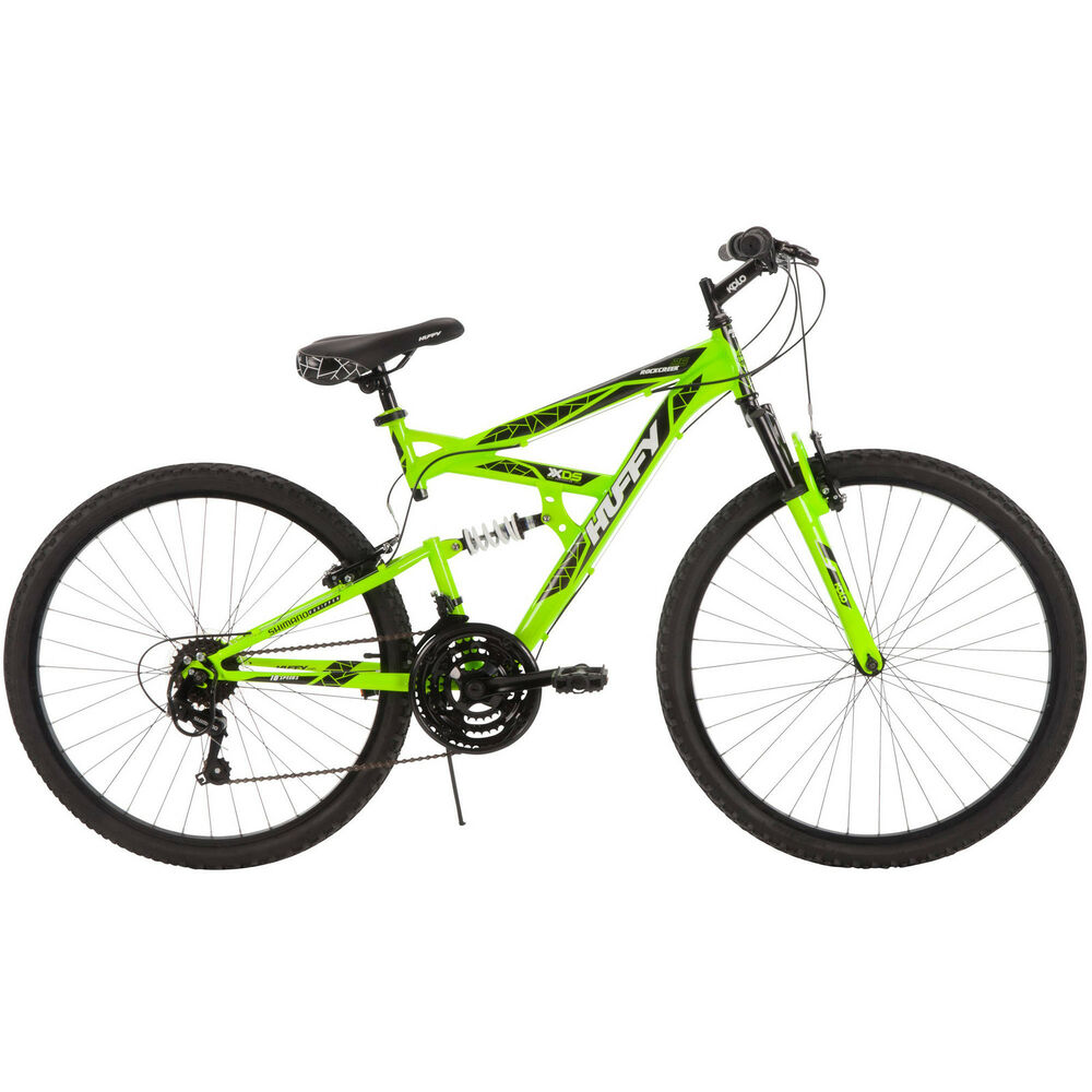 "26"" Huffy Men's Rock Creek Mountain Bike, Green 