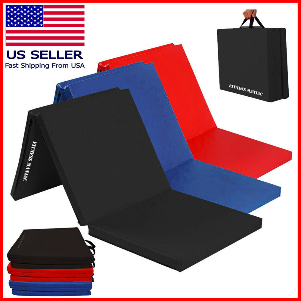 Fitness Exercise Folding Mats Yoga Pilates Gymnastics