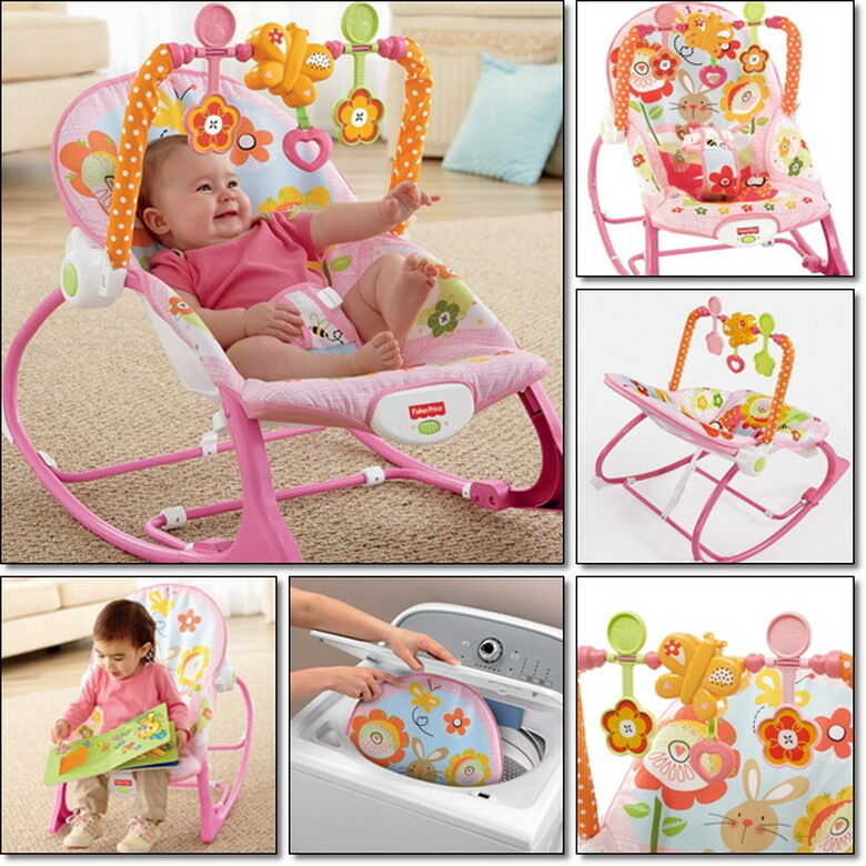 Newborn Rocker Bouncer Seat Baby Infant Chair Sleep Swing