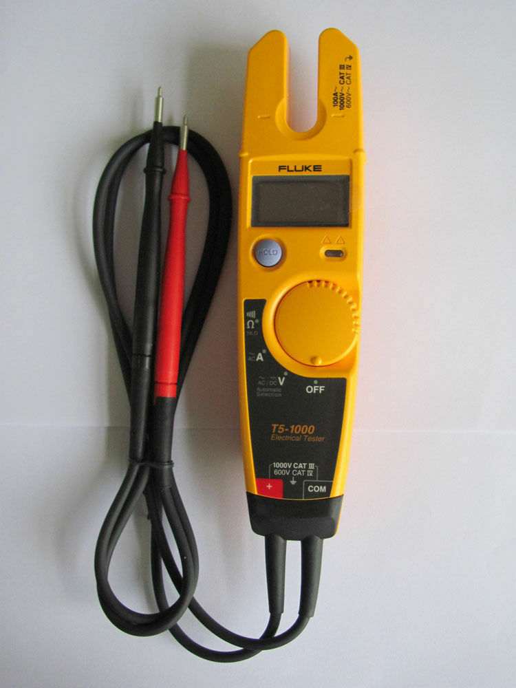 New Electrical Tester : New fluke t voltage current electrical tester