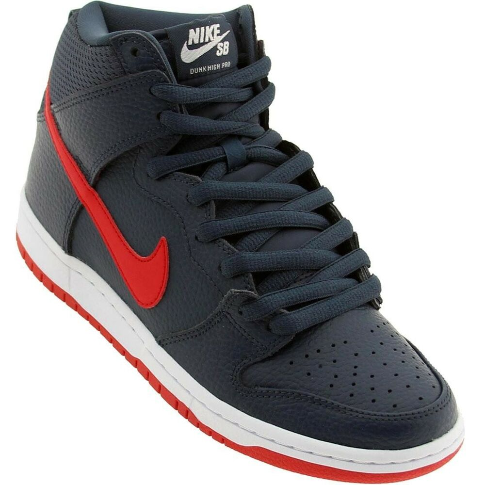 competitive price dfb45 c2929 Details about 305050-463 Nike Men Dunk High Pro SB squadron blue    university red   white