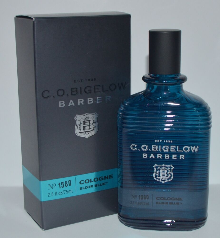 C O Bigelow Barber Elixir Blue Cologne Body Spray Mist