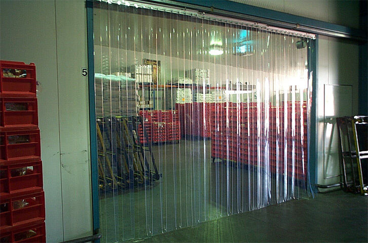 5 X 8 Industrial Strip Curtain Door Cooler Freezer Dock