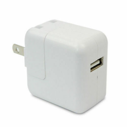 Power Adapter Apple Usb Plug Adapters On Royal Caribbean Ps4 Wheel Adapter Adapter Esata Hdmi: White USB AC Wall Charger Power Adapter For Apple IPad 1/2