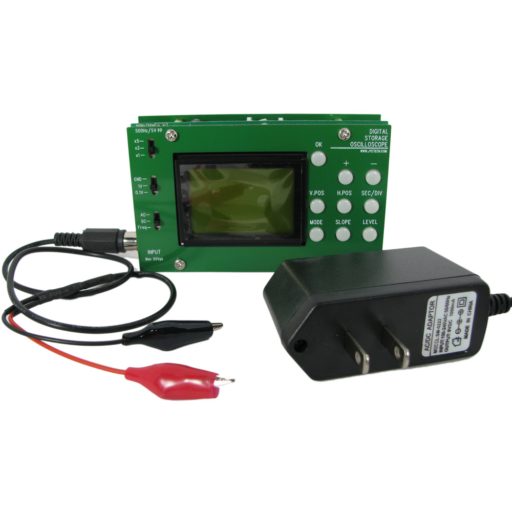 Portable Digital Oscilloscope : Luxury pocket oscilloscope kit portable scope handheld ebay
