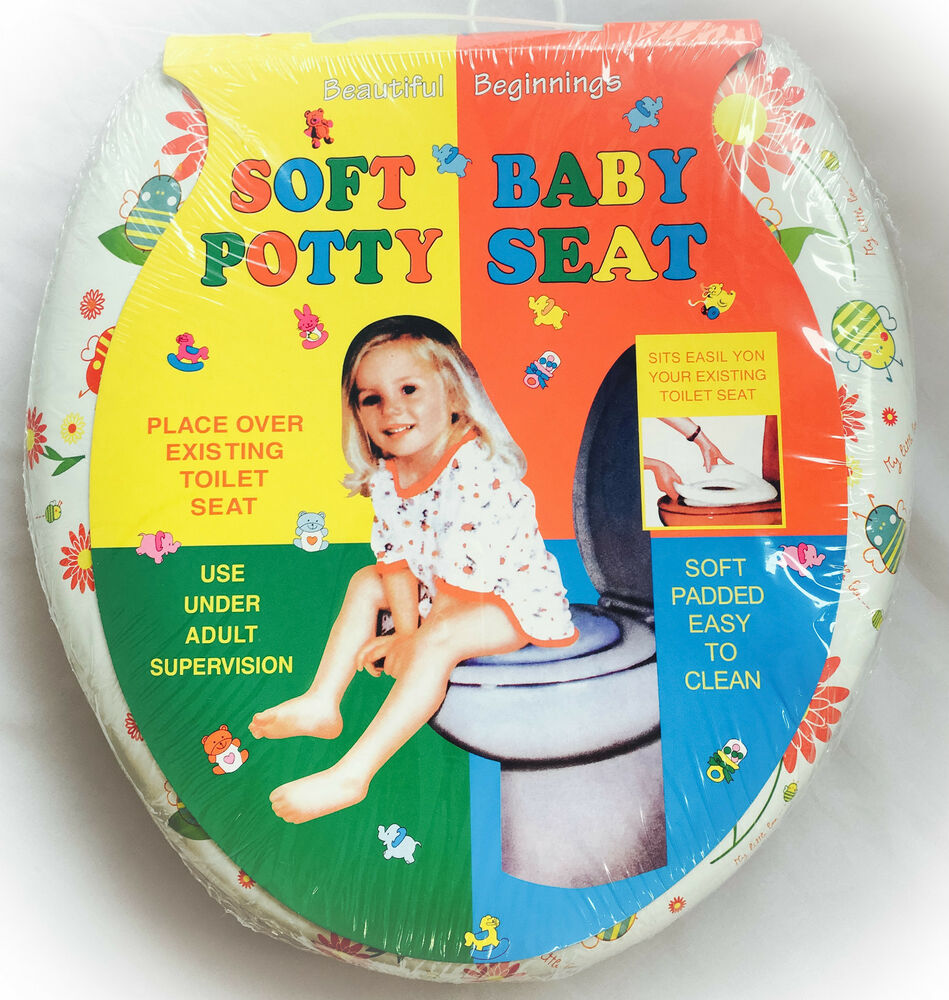 toddler toilet seat new children printed soft padded baby todler 29227