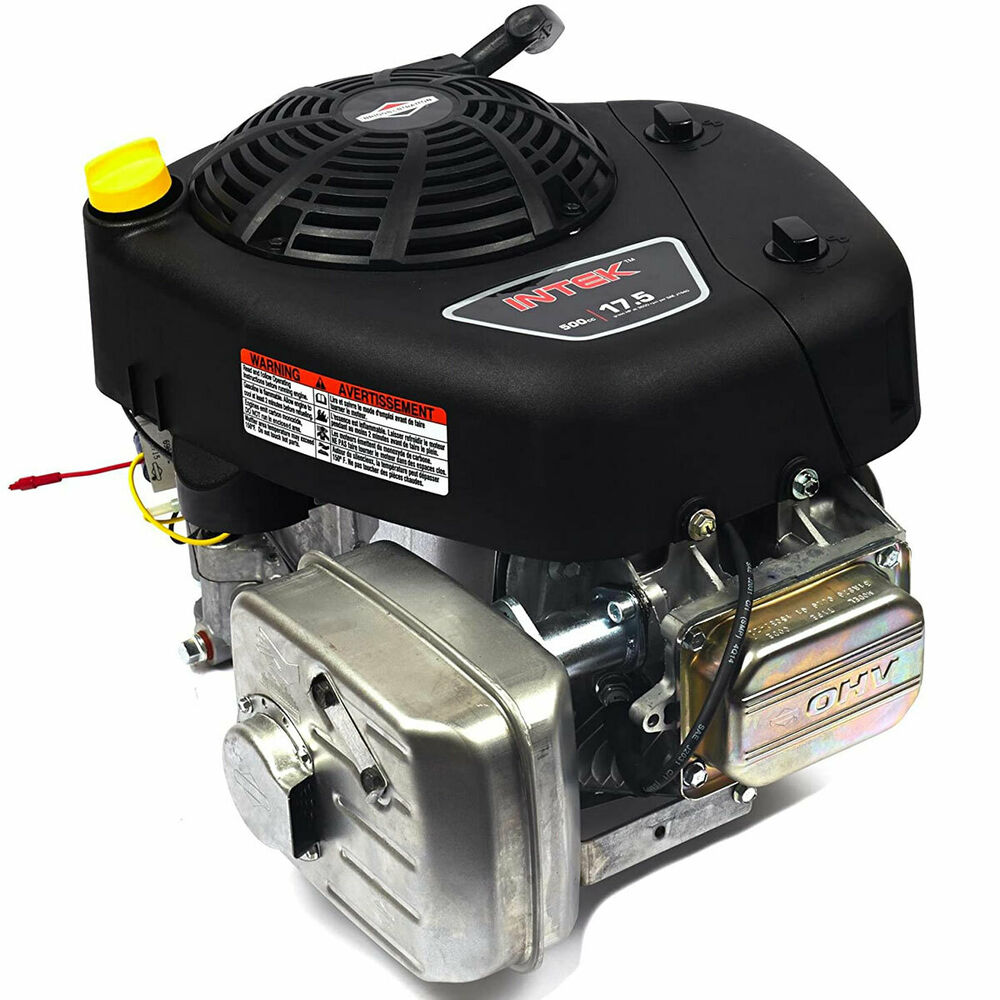 Briggs stratton 17 5 hp vertical shaft intek ohv small for Briggs and stratton 5hp motor