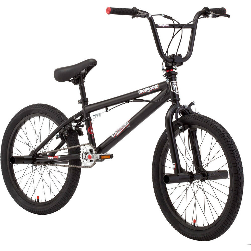 "20"" Mongoose Brawler Pro Style Boys' BMX Bike Freestyle ...