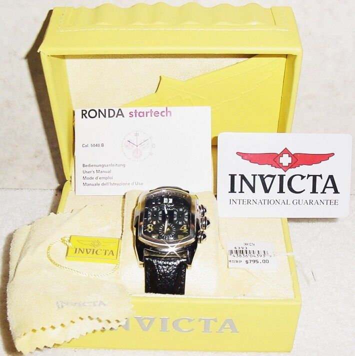 Beautiful invicta ronda startech cal 5040 b mens wristwatch ebay for Bulltoro watches