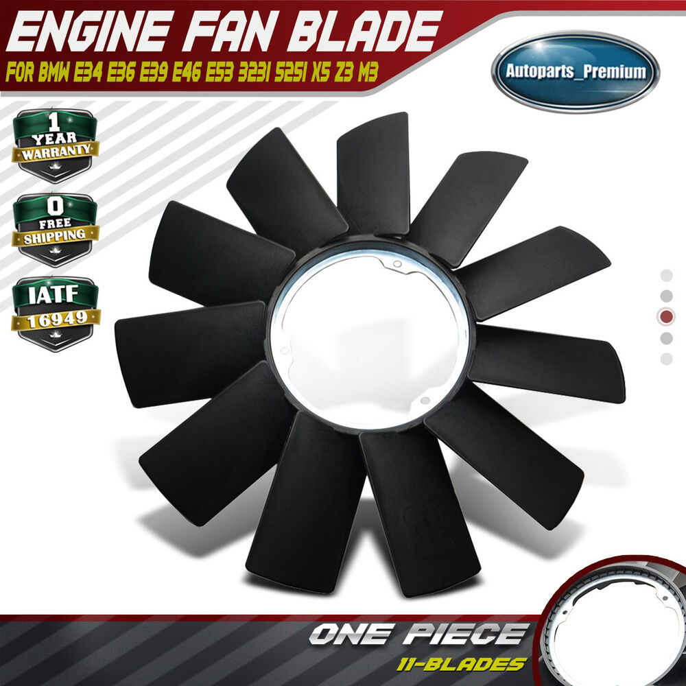 36 Fan Blade Replacement : Engine radiator cooling fan blade for bmw e