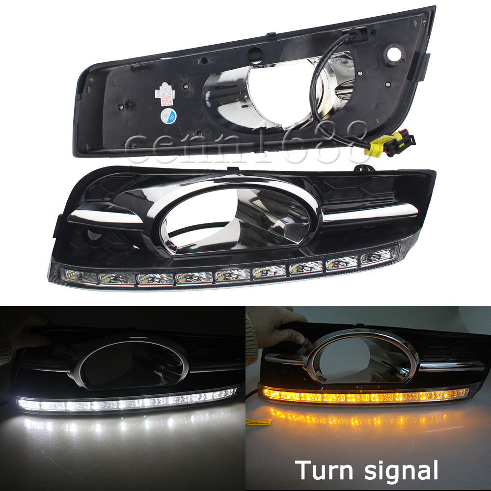 led daytime running lights drl fog lamp kit for chevrolet. Black Bedroom Furniture Sets. Home Design Ideas