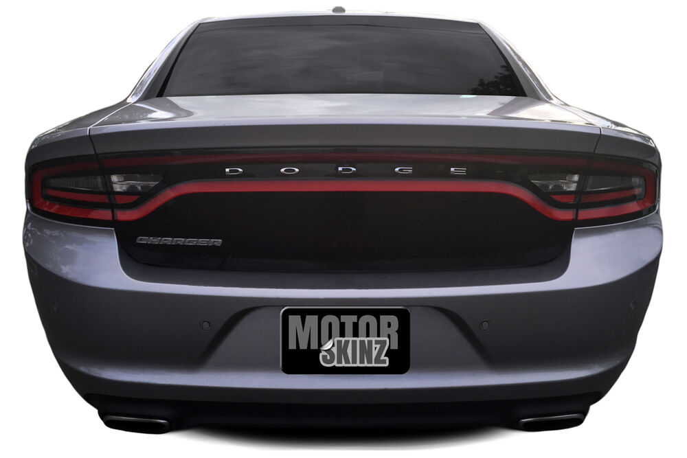 2015 2016 2017 Dodge Charger Rear Trunk Lid Overlay Cover