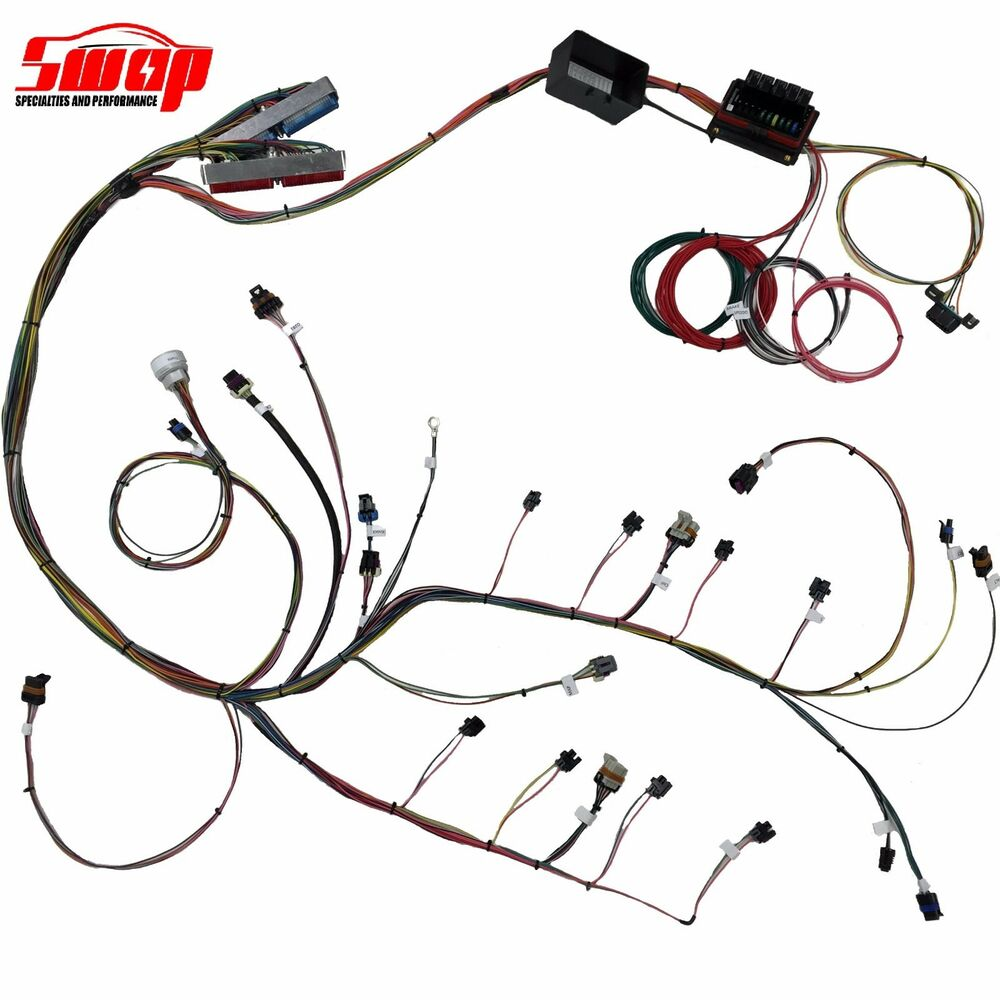 Standalone Wiring Harness Gm 6 0 Engine Diagrams S60r Ignition Coil 4 8 5 3 Ls Series 24x Ebay Buick