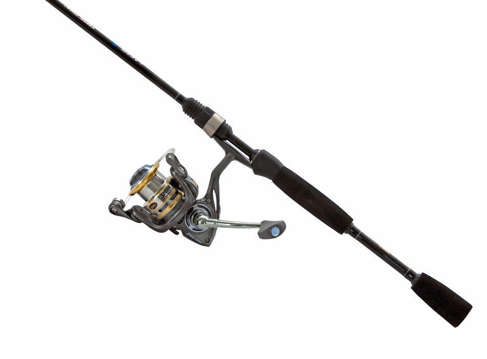 Lew 39 s laser speed spin spinning combo lg1056l 2 2 piece for Lews fishing combo
