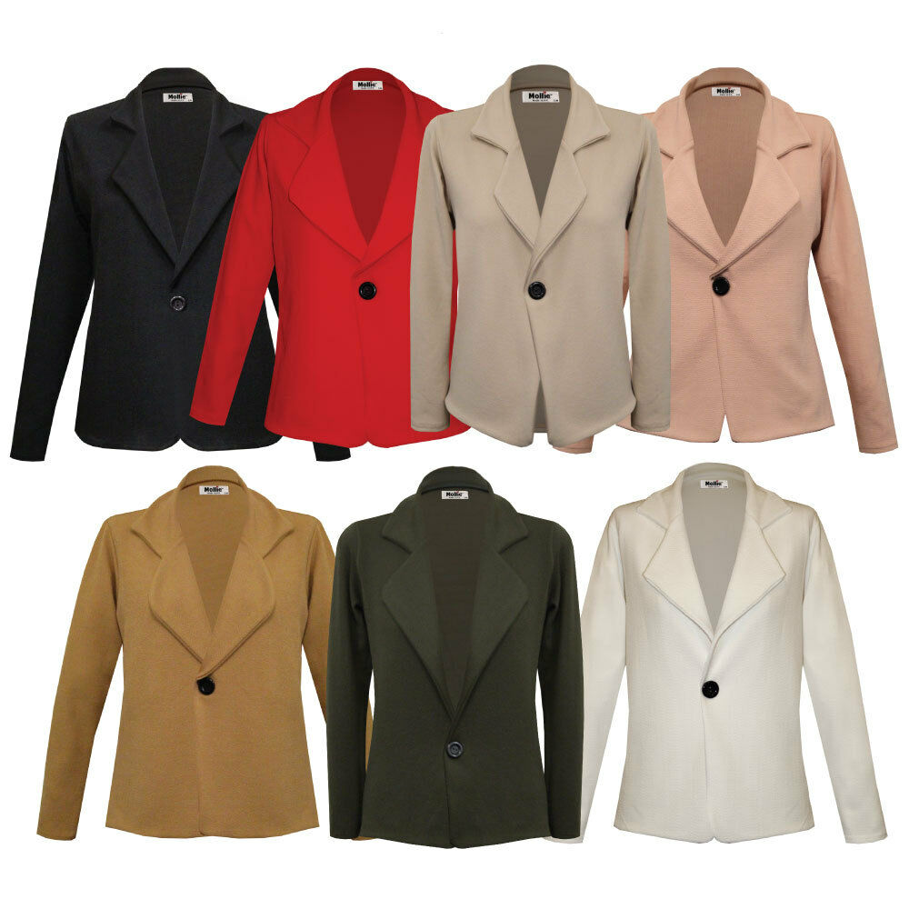 Best of all, our plus-size blazers and jackets are available in the same colors as our regular sized blazers, from the traditional navy, black, gray, and burgundy to our new stylish blazer colors gold, purple, orange, camel, white, etc.