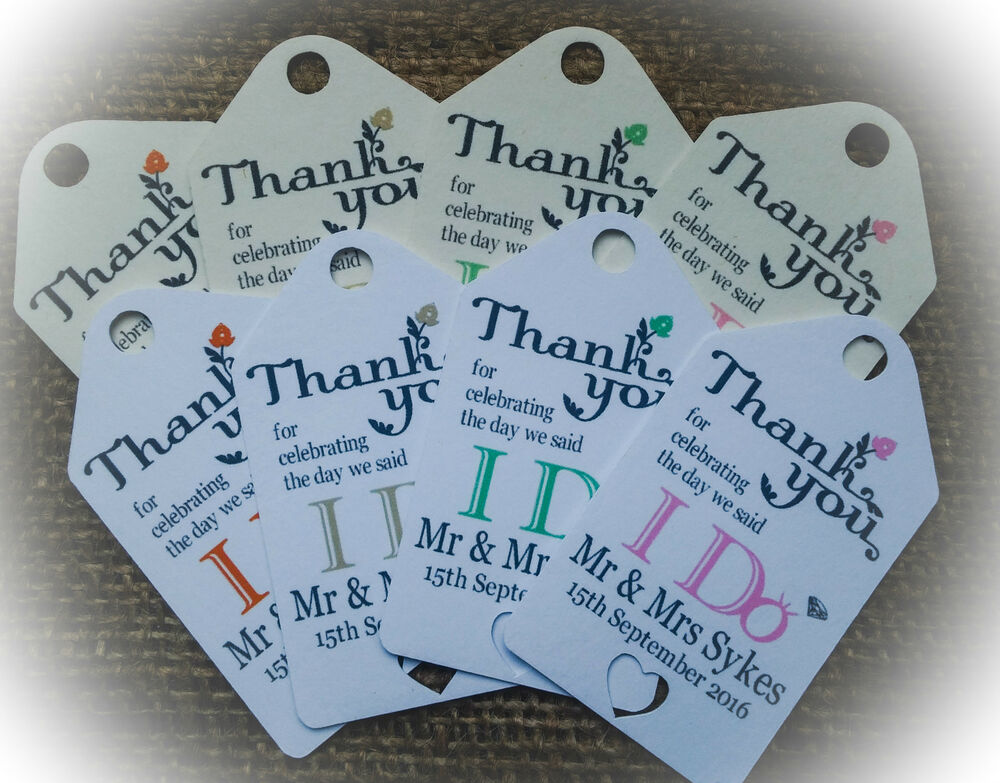 Personalised Luggage Tags Wedding Gift : Personalised Wedding Gift/Favour Vintage Luggage Tags/Labels -Thank ...