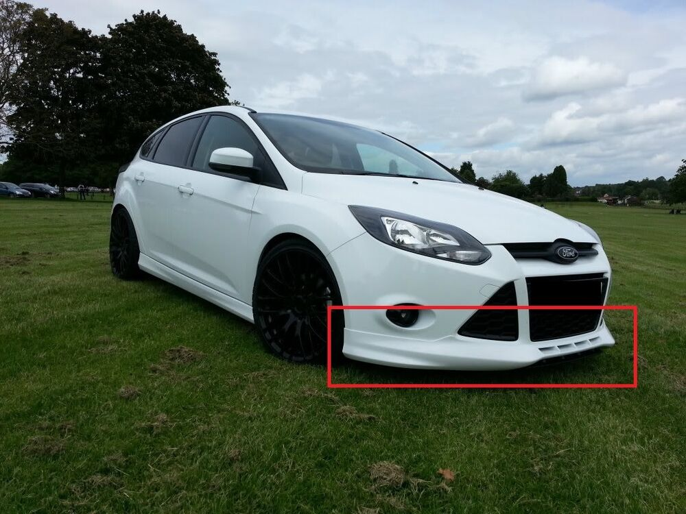 Ford Focus 3 Mk3 Body Kit Zetec S Look Front And Rear