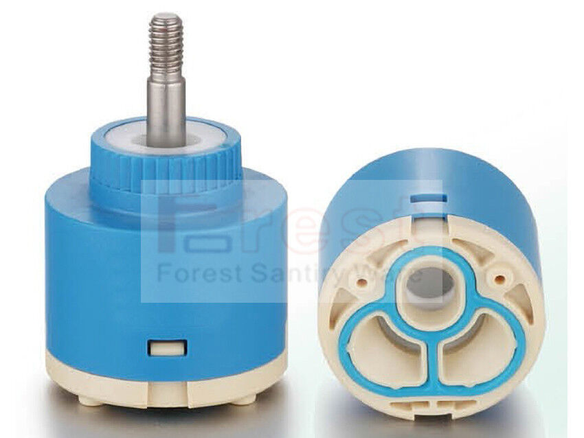 2 PCS Replacement Bathroom Kitchen Faucet Valve Mixer Tap Ceramic Cartridge