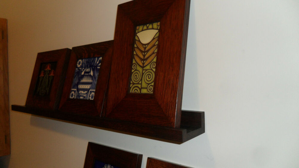 Arts And Crafts Style Wall Shelf