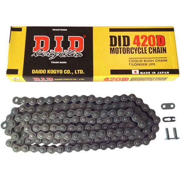 420D OPEN WITH CLIP LOCK Standard 102/links DID chain